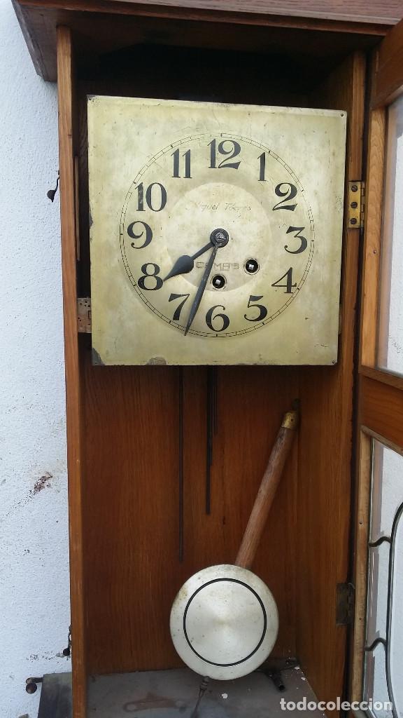 Reloj de pared antiguo comprar relojes antiguos de pared - Relojes rusticos de pared ...