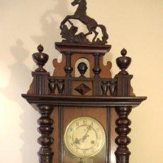 Relojes de pared: RELOJ DE PARED JUNGHANS CON SONERIA - PRINCIPIO SIGLO XX. Lote 96363843