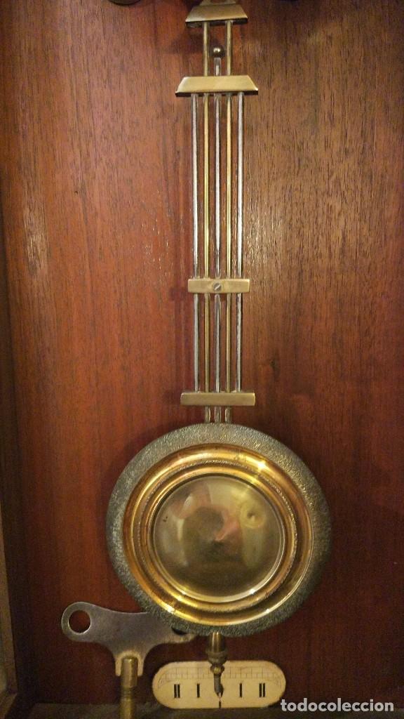 Relojes de pared: Reloj de pared Junghans con soneria - principio siglo XX - Foto 5 - 96363843