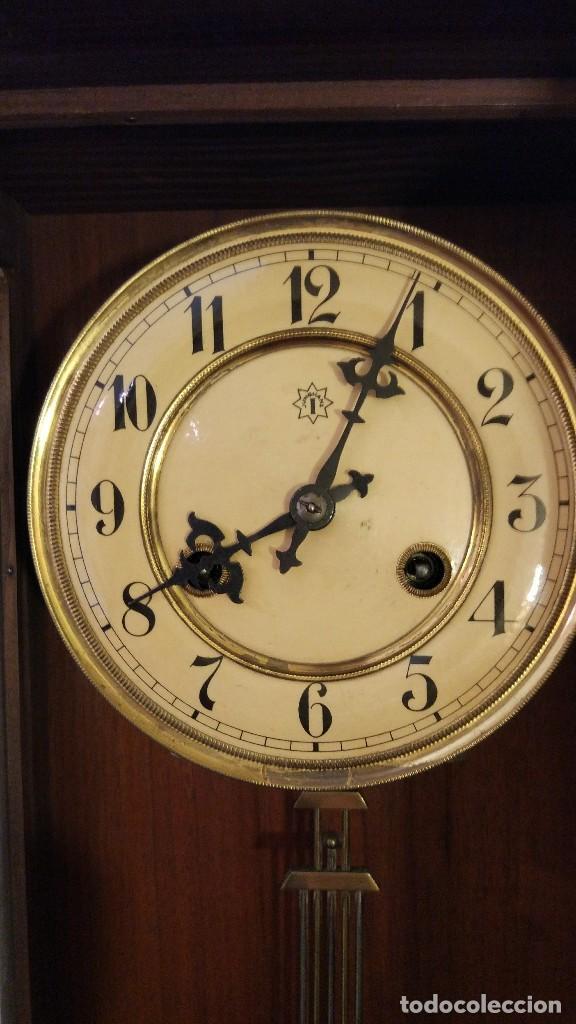 Relojes de pared: Reloj de pared Junghans con soneria - principio siglo XX - Foto 7 - 96363843