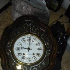 Relojes de pared: EXCEPCIONAL RELOJ OJO DE BUEY MAQUINA MORETZ SIGLO XIX. Lote 96487079