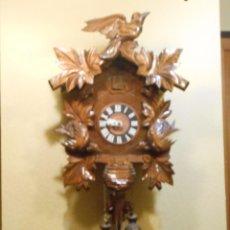 Relojes de pared: RELOJ CUCU-CUCO 7-8 DÍAS DE CUERDA ,MADE IN GERMANY( ALEMANIA,SELVA NEGRA).MECÁNICO.. Lote 96879359