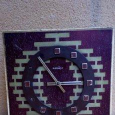 Relojes de pared: RELOJ DE PARED CARGA MANUAL RADIANT NO PROBADO. Lote 97213511