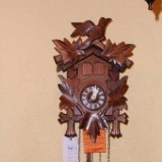 Relojes de pared: RELOJ CUCU-CUCO MUSICAL DE DOS PUERTAS( SELVA NEGRA- ALEMANIA).MECÁNICO.NUEVO A ESTRENAR.. Lote 97508031