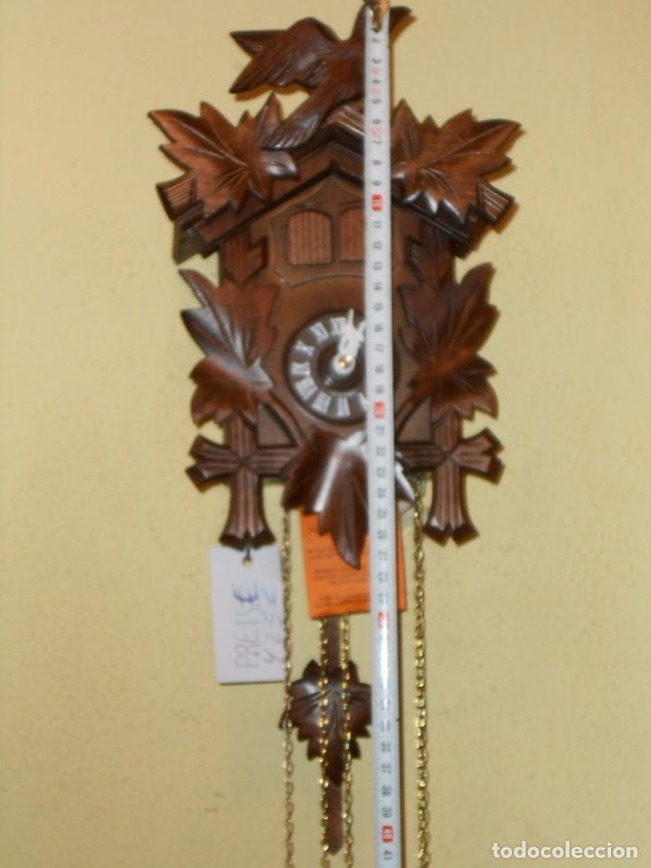 Relojes de pared: RELOJ CUCU-CUCO MUSICAL DE DOS PUERTAS( SELVA NEGRA- ALEMANIA).MECÁNICO.NUEVO A ESTRENAR. - Foto 2 - 97508031