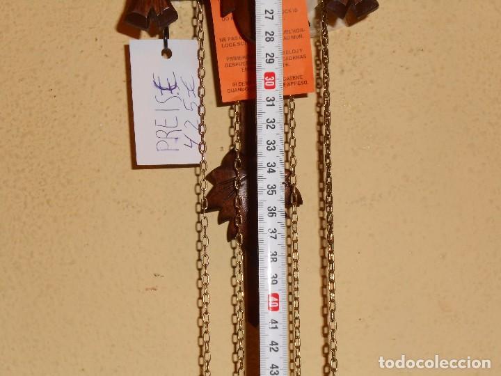 Relojes de pared: RELOJ CUCU-CUCO MUSICAL DE DOS PUERTAS( SELVA NEGRA- ALEMANIA).MECÁNICO.NUEVO A ESTRENAR. - Foto 3 - 97508031