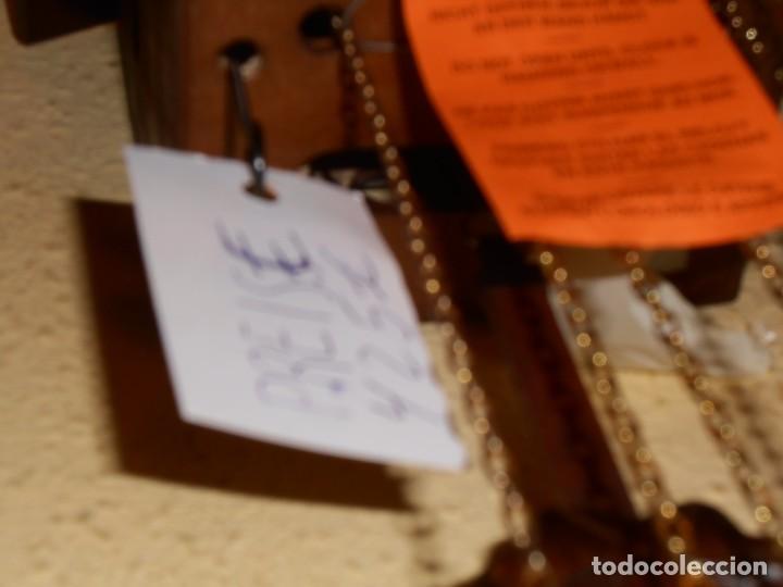 Relojes de pared: RELOJ CUCU-CUCO MUSICAL DE DOS PUERTAS( SELVA NEGRA- ALEMANIA).MECÁNICO.NUEVO A ESTRENAR. - Foto 5 - 97508031