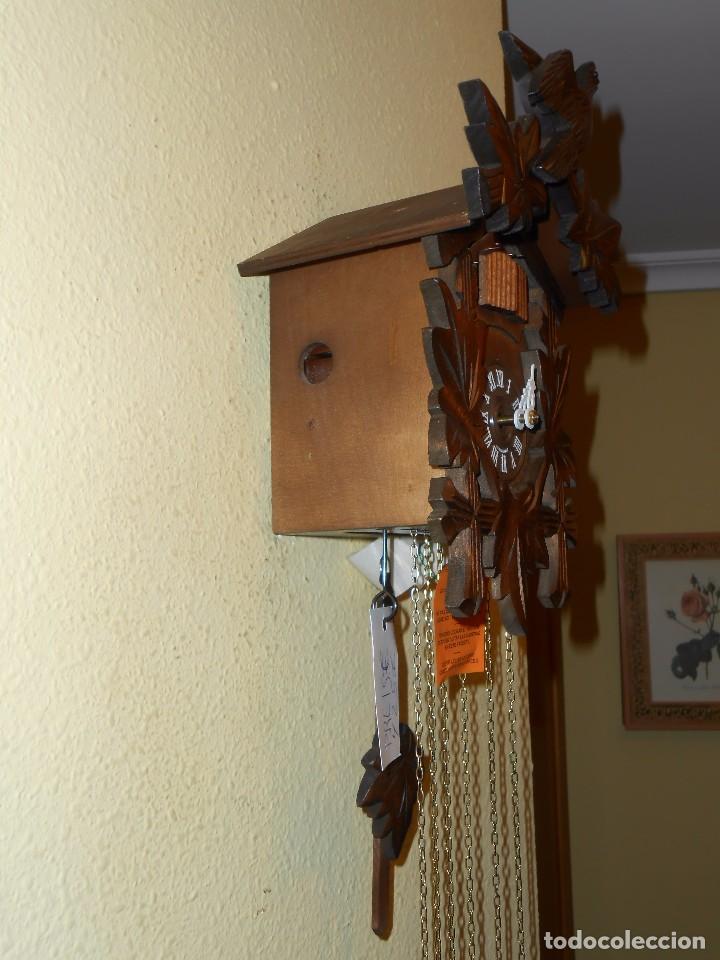 Relojes de pared: RELOJ CUCU-CUCO MUSICAL DE DOS PUERTAS( SELVA NEGRA- ALEMANIA).MECÁNICO.NUEVO A ESTRENAR. - Foto 6 - 97508031