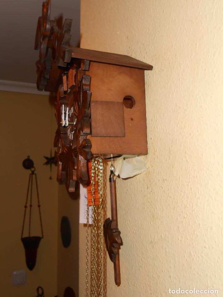 Relojes de pared: RELOJ CUCU-CUCO MUSICAL DE DOS PUERTAS( SELVA NEGRA- ALEMANIA).MECÁNICO.NUEVO A ESTRENAR. - Foto 7 - 97508031