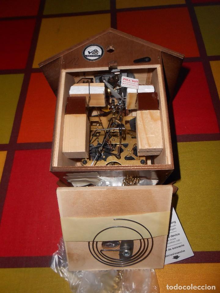 Relojes de pared: RELOJ CUCU-CUCO MUSICAL DE DOS PUERTAS( SELVA NEGRA- ALEMANIA).MECÁNICO.NUEVO A ESTRENAR. - Foto 12 - 97508031