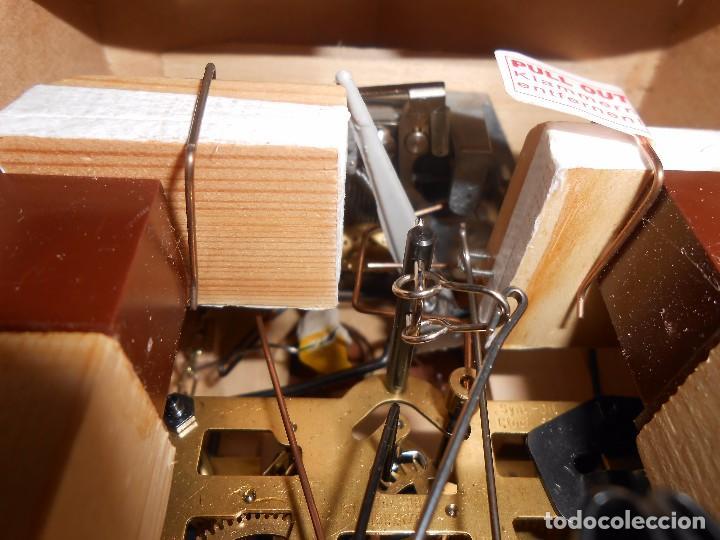 Relojes de pared: RELOJ CUCU-CUCO MUSICAL DE DOS PUERTAS( SELVA NEGRA- ALEMANIA).MECÁNICO.NUEVO A ESTRENAR. - Foto 14 - 97508031