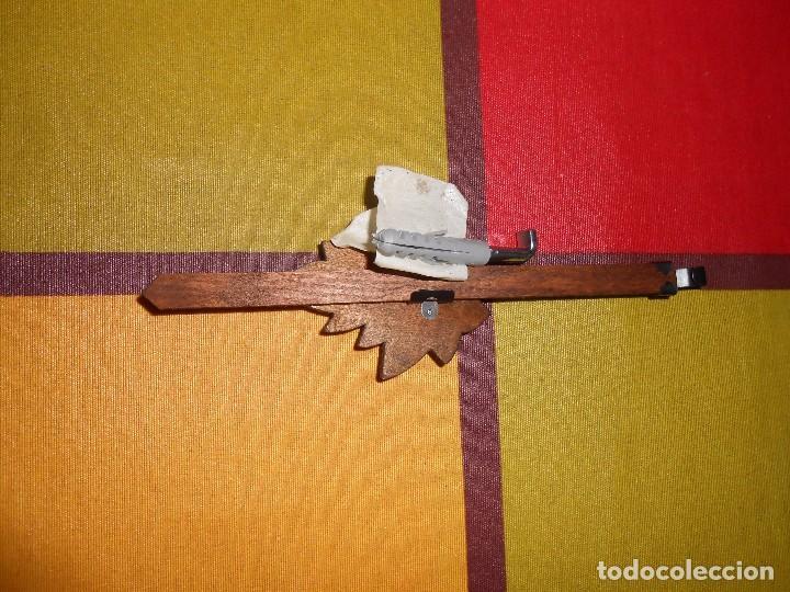 Relojes de pared: RELOJ CUCU-CUCO MUSICAL DE DOS PUERTAS( SELVA NEGRA- ALEMANIA).MECÁNICO.NUEVO A ESTRENAR. - Foto 18 - 97508031