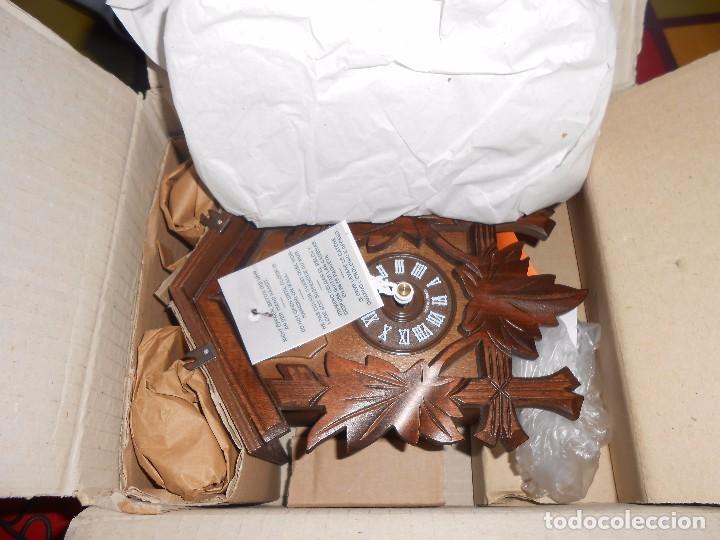 Relojes de pared: RELOJ CUCU-CUCO MUSICAL DE DOS PUERTAS( SELVA NEGRA- ALEMANIA).MECÁNICO.NUEVO A ESTRENAR. - Foto 21 - 97508031
