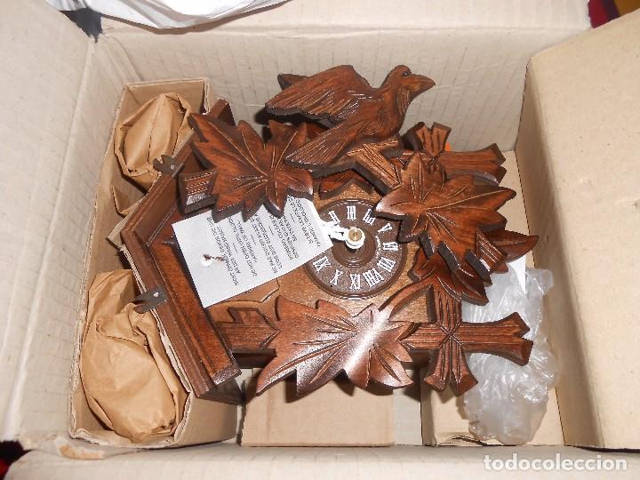 Relojes de pared: RELOJ CUCU-CUCO MUSICAL DE DOS PUERTAS( SELVA NEGRA- ALEMANIA).MECÁNICO.NUEVO A ESTRENAR. - Foto 22 - 97508031