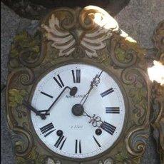 Wanduhren - reloj morez autómata s.XIX.Francia - 97647115