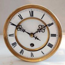 Relojes de pared: RELOJ DE PARED CARGA MANUAL SIN CAJA.. Lote 98106575
