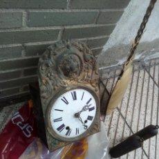 Relojes de pared: ANTIGUO RELOJ MORET DE CAMPANA CON PÉNDULO GRANDE. Lote 98642468
