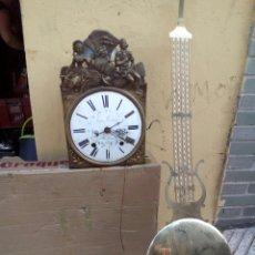 Relojes de pared: GRAN MORET DE CAMPANA CON PÉNDULO GRANDE. Lote 98642862