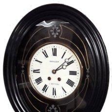 Relojes de pared: RELOJ OJO DE BUEY. MOVIMIENTO PARIS, PERFECTO FUNCIONAMIENTO. Lote 98646027