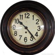 Relojes de pared: OJO DE BUEY HAC, UNA CUERDA, BUEN FUNCIONAMIENTO. Lote 98646611
