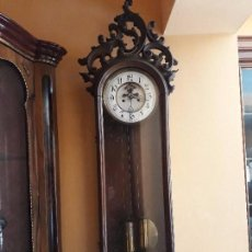 Relojes de pared: RELOJ DE PARED LENZKIRCH ( ESCAPE VISTO ) . Lote 99078979
