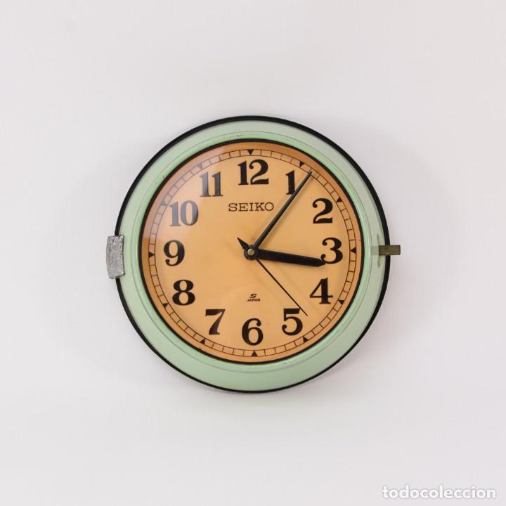 Reloj de pared vintage seiko verde comprar relojes - Relojes pared antiguos ...