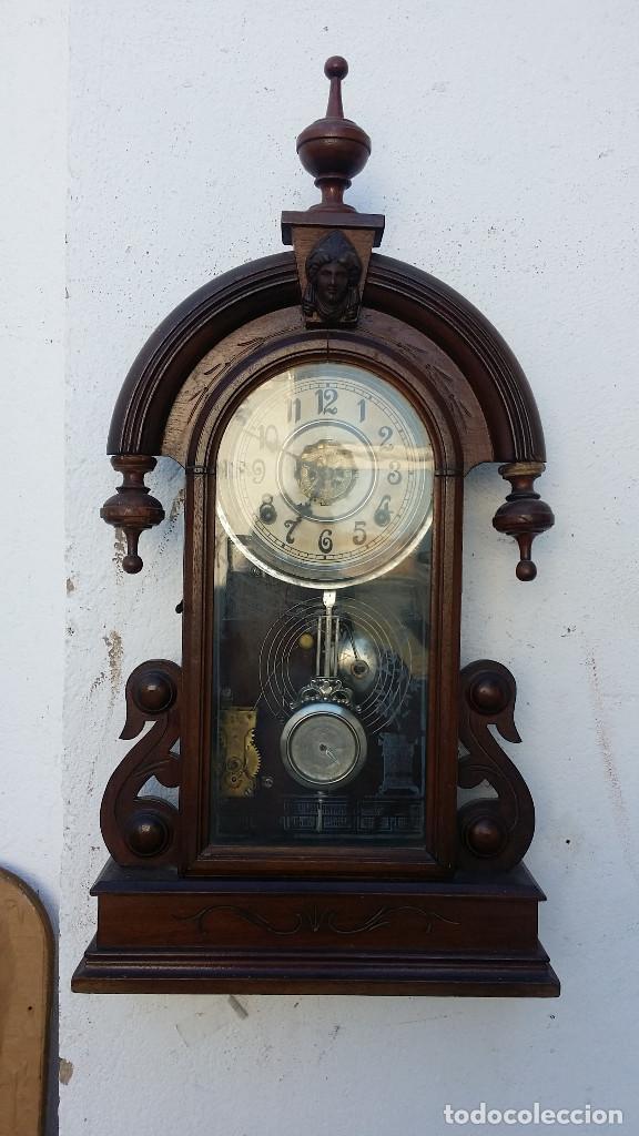 RELOJ DE PARED Y DE SOBREMESA (Relojes - Pared Carga Manual)