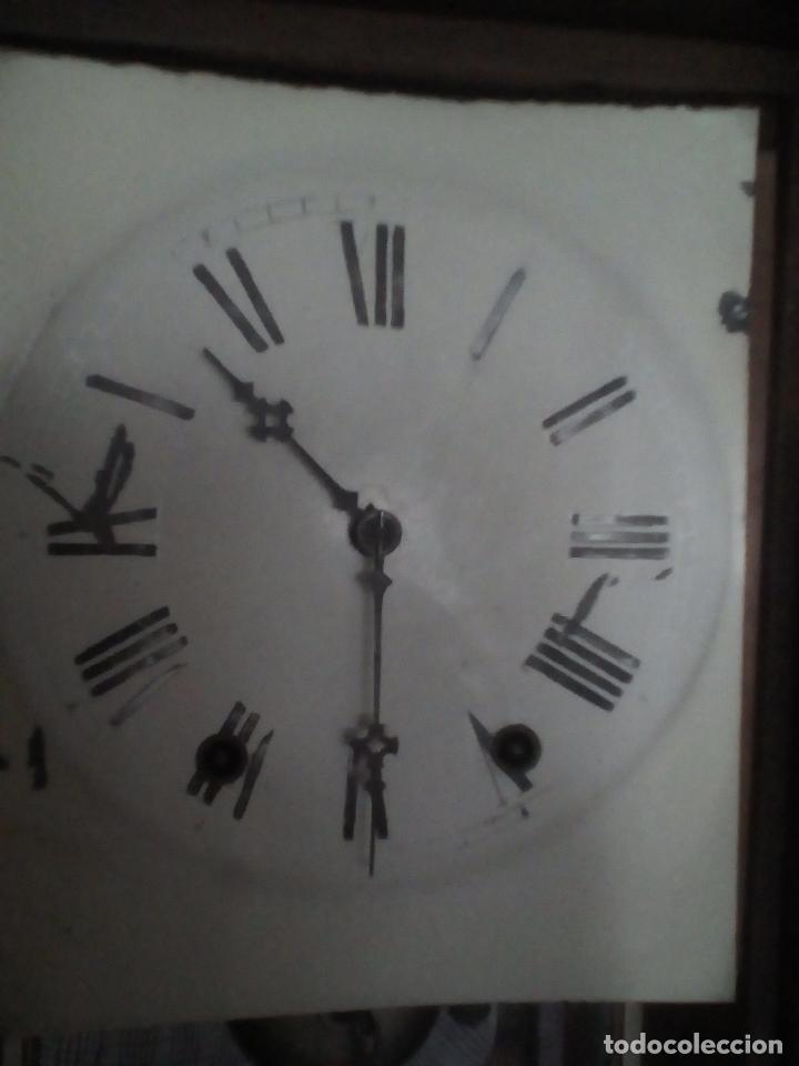 Relojes de pared: RELOJ DE PARED ANTIGUO 1910 AMERICANO MARCA ANGLO JEROME & CO FUNCIONANDO VER FOTOS - Foto 14 - 83912736