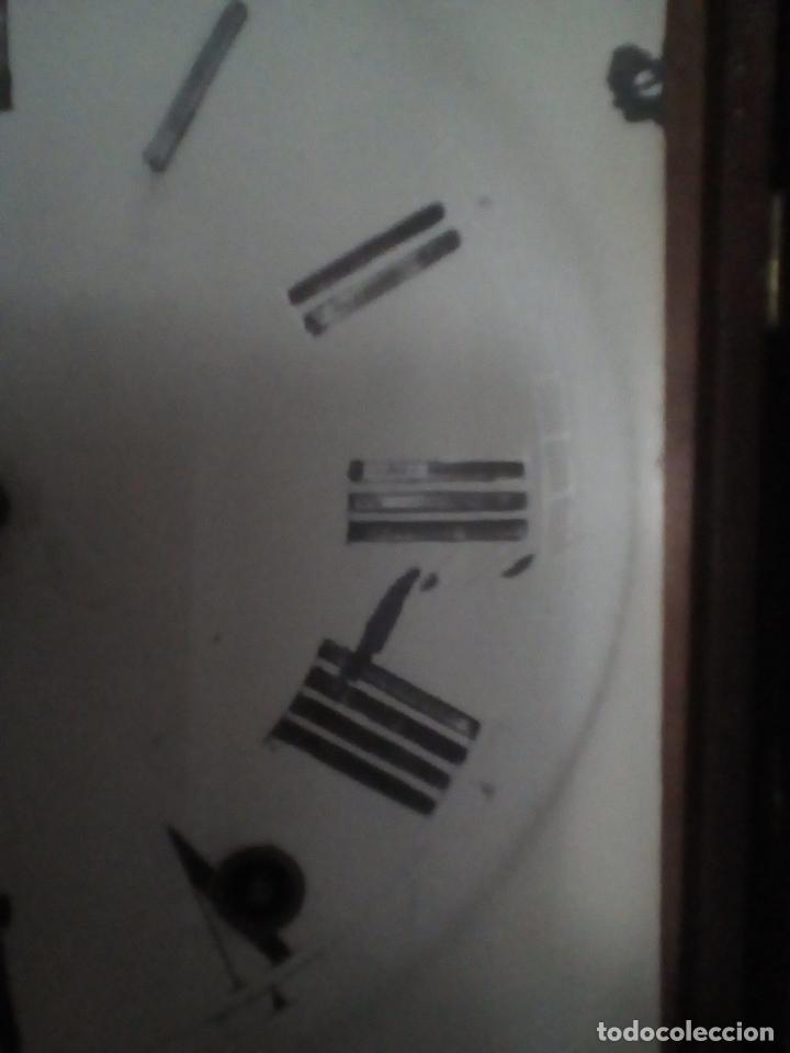 Relojes de pared: RELOJ DE PARED ANTIGUO 1910 AMERICANO MARCA ANGLO JEROME & CO FUNCIONANDO VER FOTOS - Foto 15 - 83912736