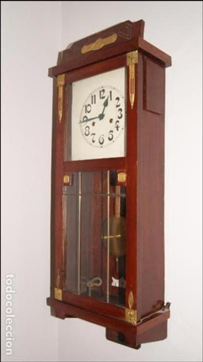 Relojes de pared: Antiguo Reloj de Pared. - Foto 3 - 99816943