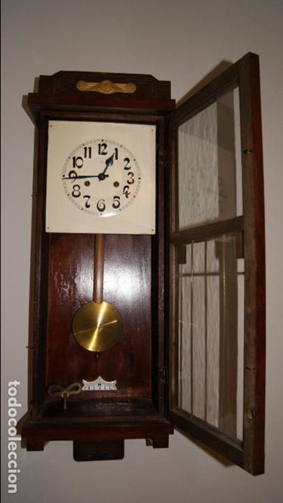 Relojes de pared: Antiguo Reloj de Pared. - Foto 5 - 99816943