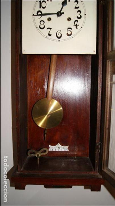 Relojes de pared: Antiguo Reloj de Pared. - Foto 6 - 99816943