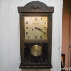 Relojes de pared: CURIOSO RELOJ DE PARED DUNCAN. Lote 161512498