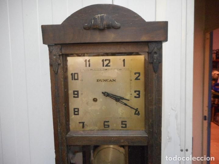 Relojes de pared: curioso reloj de pared duncan - Foto 2 - 161512498