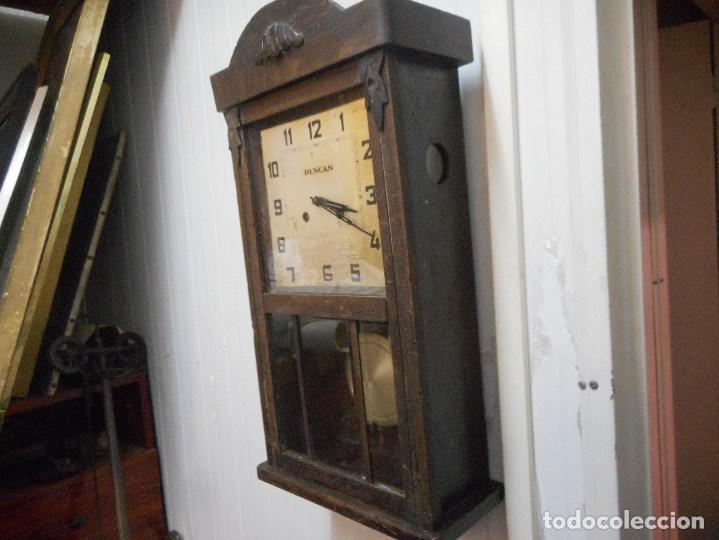 Relojes de pared: curioso reloj de pared duncan - Foto 3 - 161512498