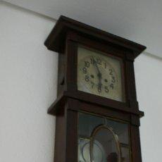 Relojes de pared: RELOJ DE PARED CON PÉNDULO. Lote 100220219