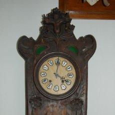 Relojes de pared: RELOJ DE PARED MODERNISTA 1910. Lote 100333363