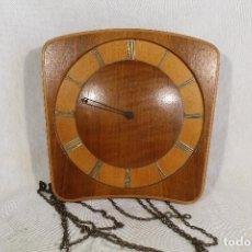 Relojes de pared: RELOJ DE PARED MARCA DENZLE. Lote 101420891
