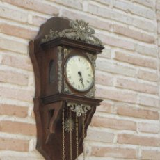 Relojes de pared: RELOJ ANTIGUO DE PARED - GERMANY - FUNCIONANDO.. Lote 102183691