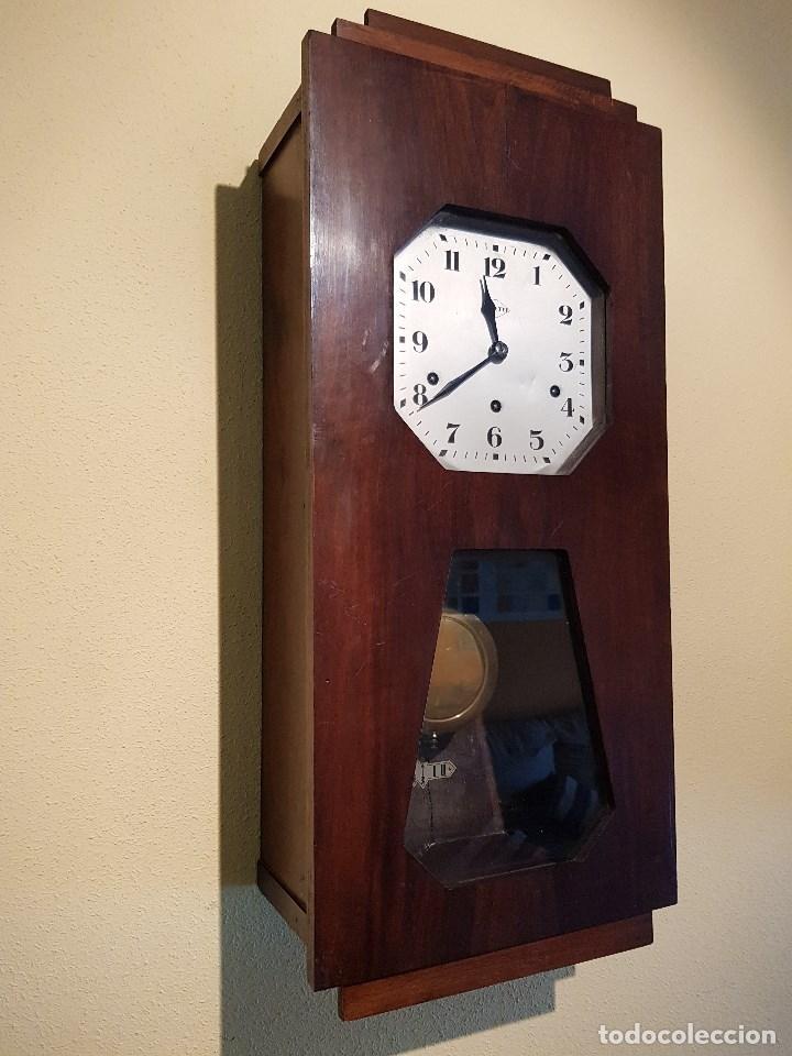 Antiguo reloj carrillon vedette comprar relojes antiguos de pared carga manual en - Relojes pared antiguos ...