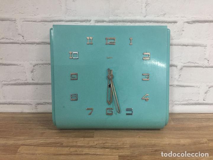 RELOJ INDUSTRIAL DE PARED ZENTRA ALEMANIA AÑOS 60 (Relojes - Pared Carga Manual)