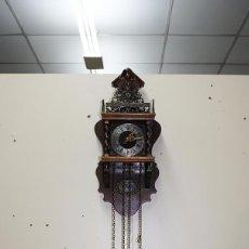 Relojes de pared: RELOJ ANTIGUO DE PARED - DECORACIÓN. Lote 103306943