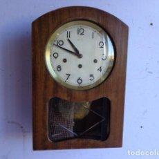 Relojes de pared: MUY ANTIGUO (PRINCIPIOS 1900), RARO Y BONITO RELOJ CARILLON A CUERDAS, COMPLETO Y FUNCIONANDO PERFEC. Lote 103476235