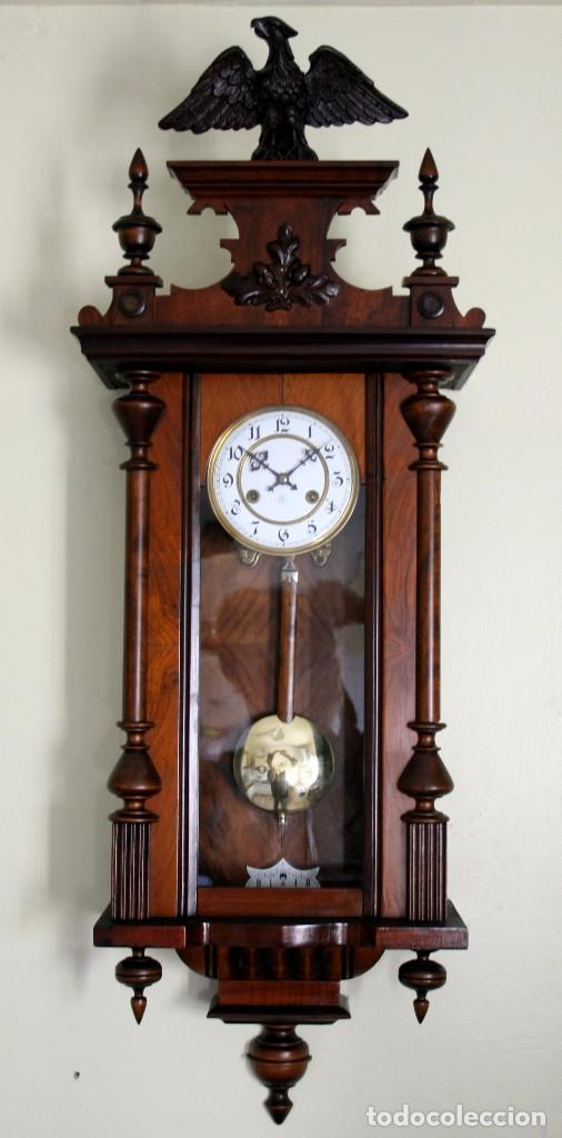 Antiguo reloj de pared alfonsino de la casa jun comprar relojes antiguos de pared carga manual - Relojes pared antiguos ...