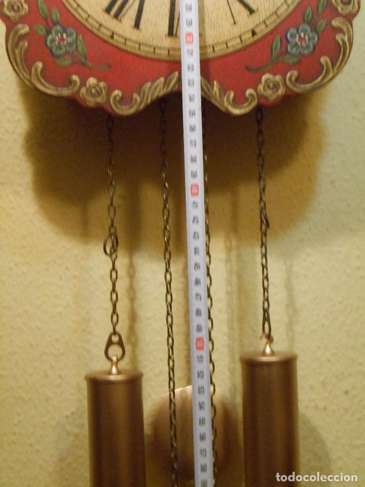 Relojes de pared: GRAN RELOJ ESCUDO DE PARED XL, CUERDA 7-8 DÍAS. - Foto 3 - 103981547