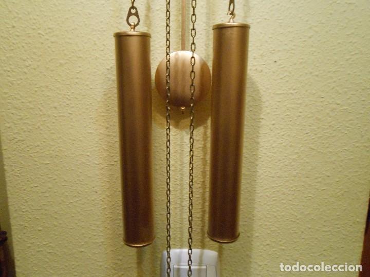 Relojes de pared: GRAN RELOJ ESCUDO DE PARED XL, CUERDA 7-8 DÍAS. - Foto 6 - 103981547