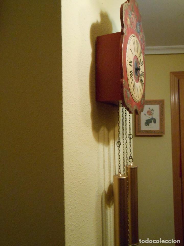 Relojes de pared: GRAN RELOJ ESCUDO DE PARED XL, CUERDA 7-8 DÍAS. - Foto 7 - 103981547