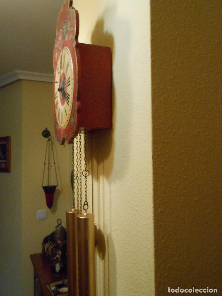 Relojes de pared: GRAN RELOJ ESCUDO DE PARED XL, CUERDA 7-8 DÍAS. - Foto 8 - 103981547