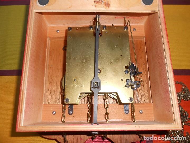 Relojes de pared: GRAN RELOJ ESCUDO DE PARED XL, CUERDA 7-8 DÍAS. - Foto 18 - 103981547