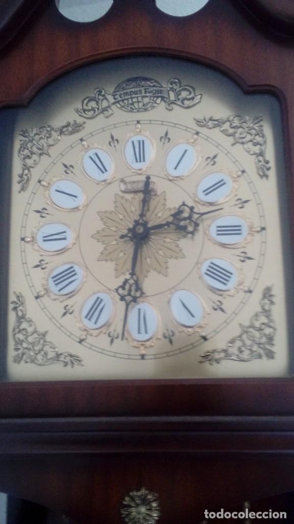 Relojes de pared: RELOJ DE PÉNDULO DE PARED MARCA RADIANT CARRILLÓN CON TRES PESOS . - Foto 5 - 104060727